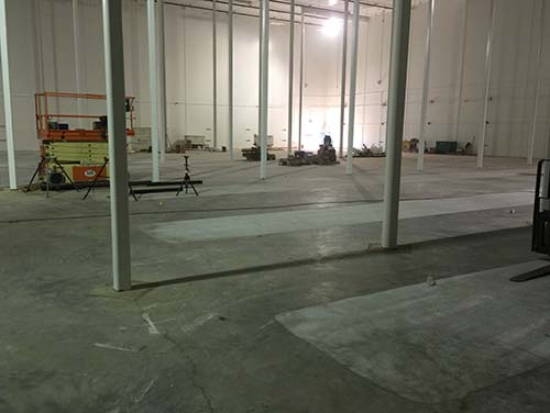 Superflat floor grinding in USA