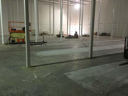 Superflat floor grinding in USA