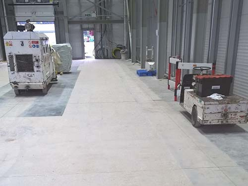 DM1 Floor Grinding for BioMarin