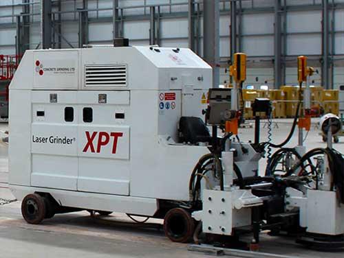 ultraflat floor grinding XPT